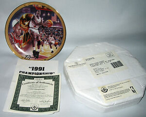 Michael Jordan Collection 1991 Championship Plate Upper Deck Company