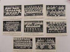 1959-60 Football Teams Hull Preston Blackburn Burnley Derby Stoke 8 in total