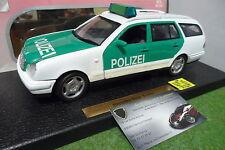 MERCEDES BENZ E CLASS POLIZEI blanc vert 1/18 ANSON 30362 voiture miniature