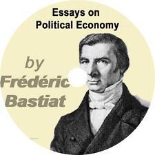 Essays on Political Economy, Frederic Bastiat Goverment Audiobook on 1 MP3 CD