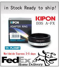 Kipon Adapter EOS-FX A Canon EOS EF to Fuji X-PRO1 X-E1 X-T1 w/Build-in Aperture