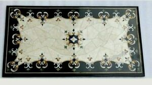24 x 48 Inches Elegant Design Inlaid Living Room Table Marble Coffee Table Top