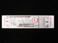 September 26, 1976 Pittsburgh Pirates @ St. Louis Cardinals Full Ticket