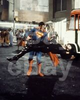 Superman II (1980) Christopher Reeve, Terence Stamp 10x8 Photo