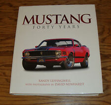 2003 Ford Mustang 40 Forty Years Hardcover Book Randy Leffingwell