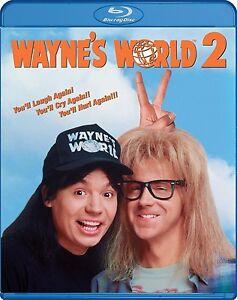 WAYNE'S WORLD 2 (1993 Mike Myers)  -  Blu Ray - Sealed Region free