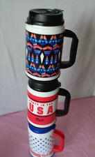 New Victoria Secret Pink chug mug tumbler 24Oz insulated Americana star flag 1