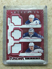 15-16 UD Artifacts Tundra Trios Fight Straps MARK SCHEIFELE/WHEELER/PAVELEC /6
