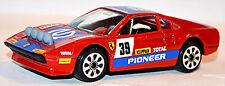 Ferrari 308 GTB Rally #39 Pioneer rojo rojo 1:43 Bburago