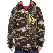VOLCOM Men's CLAYTONS Soft Shell Jacket - MLC - Small - NWT - Reg $340