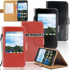 For Various Blackview Phones - Flip View Window Cover Stand Wallet Leather Case