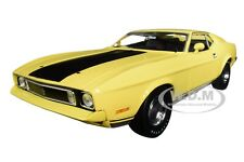 """1973 FORD MUSTANG MACH 1 """"ELEANOR"""" GONE IN 60 SECONDS 1/18 CAR GREENLIGHT 12910"""