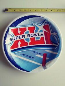 Super Bowl XLI. South Florida 02/04/07 Paper Plate Rare Colts vs Chicago Bears