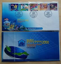 2000 Malaysia Population & Housing CENSUS 5v Stamps FDC (Melaka Cachet) Best Buy
