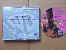 TEVIN CAMPBELL,TELL ME WHAT YOU WANT ME TO DO(edit 4:10+album version 5:00) mcd