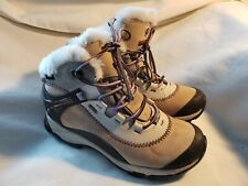 Merrell Thermo Arc 6 Brindle Short Winter Boots Waterproof Faux Fur Size 7