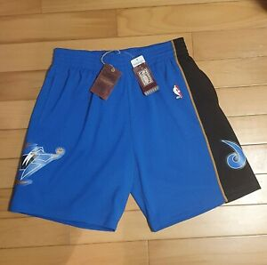 Washington Wizards Mitchell & Ness swingman shorts away blue 2002-03 HWCs
