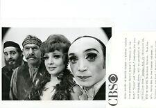 HERSCHEL BERNARDI ANITA GILLETTE MARTIN ROSS HARRY GOZ ED SULLIVAN CBS TV PHOTO