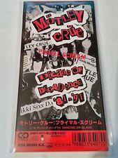 "MÖTLEY CRÜE - Primal Scream / Dancing On Glass JAPAN 3""CD  WMD5-4075 NEU NEW"