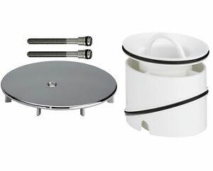 Viega Set Tempoplex Abdeckung + Tauchrohr Einsatz Abdeckhaube Duschablauf Dusche