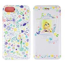 Disney Tangled Rapunzel iPhone 7/6s/6 Flip Cover Purple DN-432PU Japan new .