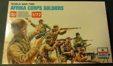 1/72 ESCI #206 WWII German Afrika Corps Infantry plastic