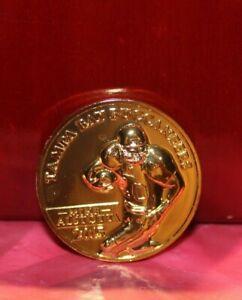 Mike Alstott Bucacaneers 2015 Ring of Honor Coin