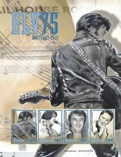 Palau- Elvis Presley 75th Birthday Celebration Stamp Sheet of 4 MNH