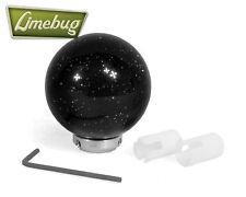 Mooneyes UNIVERSALE NERO GLITTER LUNA BALL POMELLO DEL CAMBIO SHIFTER GEAR STICK VW T1 T2