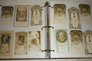 ANCIENNES  IMAGES PIEUSES,CANIVETS.RELIGION. 371 IMAGES DES ANNEES 1876 à 1990.