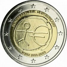 """Germany 2 euro coin 2009 """"EMU"""" UNC"""