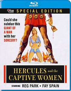Hercules And The Captive Women Blu Ray Film Detective 1961 Vittorio Cottafavi