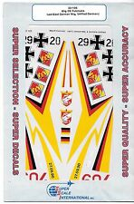 Super Scale Mig-29 Fulcrums, Last East German Mig, Unified Germany Decals 1/32