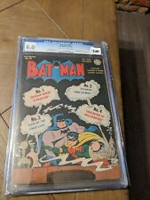 BATMAN #19 CGC 6.0; OW; Joker story; 1st Sprang art!