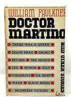 William Faulkner - Doctor Martino - 1st 1st SUPERB Copy - Author Sound Fury NR