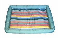 Sun Squad Dog Cooling Crate Mat Padded Striped Dog Bed Medium 21�x27� New