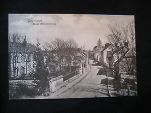 cpa- 02 Guignicourt Kaiser-Wilhelm-Straße 1916