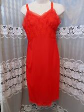 True Vintage Women's Full Slip Size Medium Red