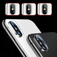 High Quality For iPhone X Tempered Glass Screen Protector Cover Rear Camera Lens