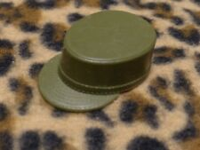 Vintage GI Joe 60s green army hat #6 made in USA cap military fatigue soldier