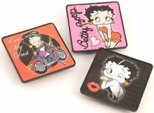 VINTAGE STYLE BETTY BOOP BOO TALKING FRIDGE MAGNET TRIPLE PACK SET IN GIFT PACK
