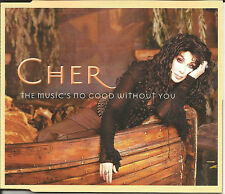 CHER Music's no good w/EDITS ALMIGHTY & Believe VIDEO CD single SEALED USA seler
