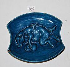 C161 cendrier - cochon - fonte émaillée - Arthur Martin - publicitaire 1
