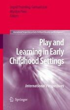 International Perspectives on Early Childhood Education and Development: Play an