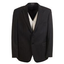 BRUNO SAINT HILAIRE Jacket Navy Stripe Wool Blend Size 46R RRP £380 BW 489
