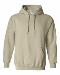 Gildan Men's Fleece Hooded Pullover Sweatshirt 18500 S-5XL Soft Warm Hoodie New
