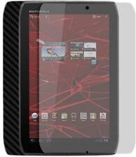 Skinomi Carbon Fiber Black Skin+Screen Cover for Motorola XOOM 2 Media Edition