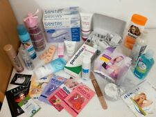 Beauty Paket!26 Teile+Manikürset,Shampoo,Badekugeln,Haar-Spray,Conditioner,Feile