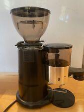 Macap M4 W/Doser & Stepless Adjust Epsresso Grinder Black with Short Hopper