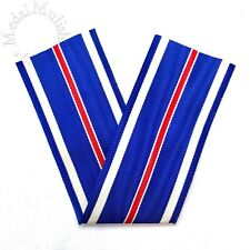 WWII US DISTINGUISHED FLYING CROSS MEDAL RIBBON DRAPE 6 INCH LENGTH PERIOD STOCK
